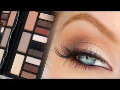 Look & Review | Kat Von D Shade & Light Palette - YouTube