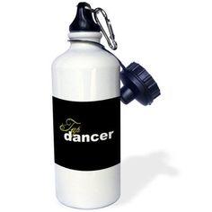 3dRose Tap Dancer, Sports Water Bottle, 21oz