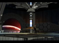 15 TARDIS Interiors You Wish Were Real 6. looks very cold like concrete or marble stone.