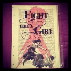 Fight Like A Girl: Treasury for a Cure by Abby on Etsy