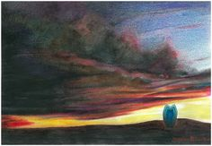 "Saatchi Art Artist: daniel levy; Pencil 2010 Drawing ""cat spirit and sonshine"""