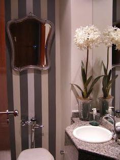 Mulher Severino,simplesmente faz-tudo...: Banheiros pequenos