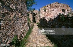 Ruins of Byzantine city of Mystras (UNESCO World Heritage List, 1989), Peloponnese, Greece, 13th-15th century