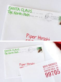 How To Get An Official Letter From Santa #magical