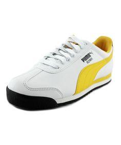 68acaa04a84cb0 PUMA PUMA ROMA BASIC MEN ROUND TOE SYNTHETIC WHITE WALKING SHOE .  puma   shoes  sneakers