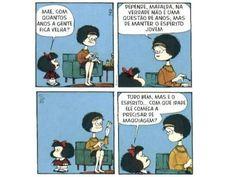 Mais uma da Mafalda...