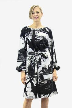 Ristomatti Ratia Espa Pilvi Dress Black/White