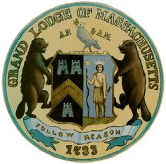 The Grand Lodge of Massachusetts Seal