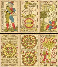 RARITÄT NEU Vandenborre Bacchus Tarot  Flämischer Tarot Tarotkarten
