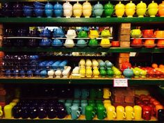 Sarah Gish -  Largest selection of Fiestaware in the Midwest. Pryde's Kitchen