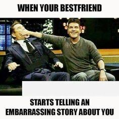Laugh your self out with various memes that we collected around the internet. Funny Best Friend Memes, Guy Best Friend, Really Funny Memes, Stupid Funny Memes, Funny Relatable Memes, Haha Funny, Funny Texts, Funny Memes About Friends, Crazy Best Friends