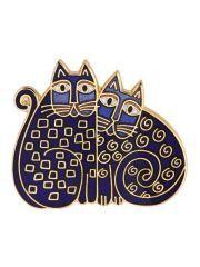 Two Laurel Burch Cats
