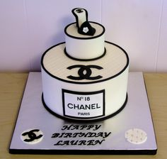 Chanel Cake by Cake Dreams and Cookie Wishes