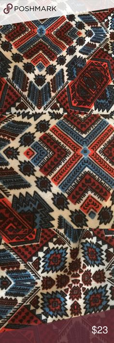 NWOT LuLaRoe TC Leggings Aztec Tribal Print NWOT LuLaRoe TC Leggings Aztec Tribal print.  I am downsizing my extensive LuLaRoe collection and have Significantly reduced the price of NWT pieces.  All stored carefully since purchase.  I paid $25 retail plus tax/shipping for this item or above for Unicorn prints.  No lowball offers, price is already greatly reduced on NWT LuLaRoe.  I am Not related to LuLaRoe in Any way. LuLaRoe Pants Leggings