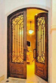 Romantica-12 - Wrought Iron Doors, Windows, Gates, & Railings from Cantera Doors