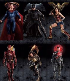 A brand new 'Justice League' banner features Batman, Wonder Woman, The Flash, Aquaman, and Cyborg standing tall and united. Watch Justice League, Justice League 2017, Batman Vs Superman, Dc Comics Art, Marvel Dc Comics, Dc Movies, Movies Free, Comic Movies, Watch Movies