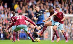 Kết quả bóng đá trực tuyến trận West Ham và Man City chung cuộc: 2-1