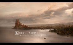 1440x900 Game of thrones king's landing