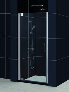 dreamline elegance 34 to frameless pivot shower door overstock shopping big discounts on dreamline shower doors