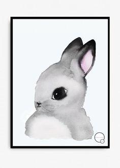 Poster kids - bunny - Kreativitum