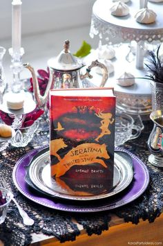Serafina and the Twisted Staff Tea Party by Kara's Party Ideas | KarasPartyIdeas.com | Kara Allen | Book Release!