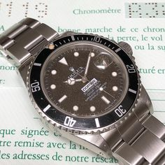 Pretty rare - Comex Rolex Submariner 168000 with box and papers...
