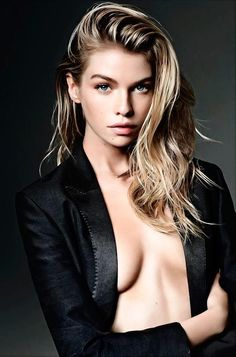 Stella Maxwell Pose for Telegraph Magazine November 2015 Photoshoot