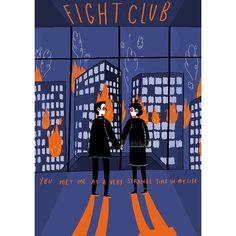 Here's a alternative film poster I made for my favourite film in the world 🔥🔥🔥 #fightclub #narrator #marlasinger #illustration #digitalart #indie #design #poster #alternative #chuckpalahniuk #davidfincher #thepixies #whereismymind #cultfilms