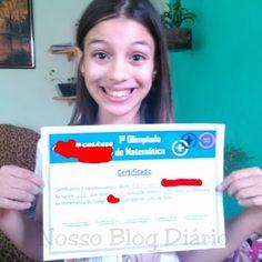 Nosso Blog Diário : Olimpíadas da Matemática. Homenagem à minha filha ...