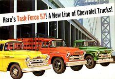 1957 Chevrolet Task-Force Truck Line   por aldenjewell