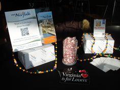 Find Visit Norfolk merchandise and information at our Visitor Center