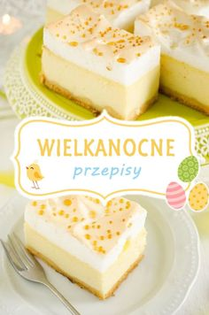Mirabelkowy blog: Przepisy na Wielkanoc Vanilla Cake, Cheesecake, Easter, Favorite Recipes, Meals, Meal Ideas, Food, Thermomix, Meal