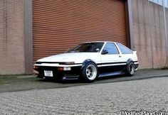 Toyota Trueno ae86  INITIAL D.  I would like a drift or two in this guy.