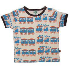 Choo Choo train SS - ittikid • Scandinavian Children's Clothes - Scandinavian Baby and Kids Clothes | Organic Eco Friendly Kids Clothes from Smafolk, Maxomorra, Duns Sweden, Sture