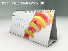Desk Calendar Mock-Up by maximmmmum on Creative Market