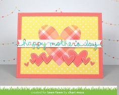 Lawn Fawn April Inspiration Week: Scripty Friends   Scripty Mom