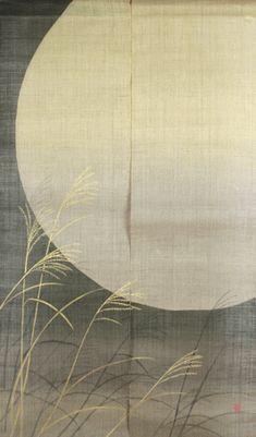 noren, lijkt me mooi om een Japans deur gordijn voor het raam te hangen.