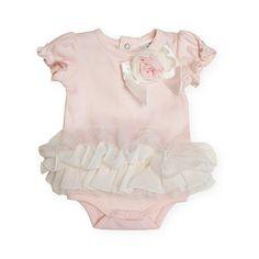 "Koala Baby Boutique Pastel Tulle Tutu Skirted Bodysuit with Rosette and Bow Detail - Koala Baby - Babies ""R"" Us"