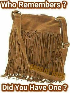 Suede fringe purse-mine was black Fringe Purse, Fringe Bags, Bags Online Shopping, Discount Shopping, Ol Days, The Good Old Days, Look Fashion, Fashion Bags, Fashion Handbags