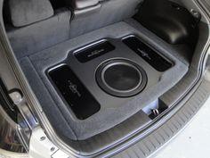 2010 Sti Stealth SQ install with a slight twist Car Audio Car Stereo Forum Jl Audio, Audio Sound, Custom Car Audio, Custom Cars, Car Audio Systems, Security Systems, Jetta A2, Car Audio Installation, Custom Car Interior