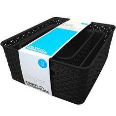 Y-Weave Cube Storage Box Black - Room Essentials Ikea Storage Drawers, Ikea Storage Cubes, Ikea Kids Storage, Ikea Cubes, Ikea Storage Cabinets, Small Space Storage, Storage Baskets, Kitchen Storage, Scrapbook Paper Storage