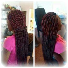 Burgundy Havana twist Protective Hairstyles, Afro Hairstyles, Natural Hair Braids, Natural Hair Styles, Faux Loc, Hair Health And Beauty, Hair Affair, Creative Hairstyles, Crochet Braids