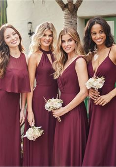 JASMINE P216058 Bridesmaid Dress | The Knot Jasmine Bridesmaids Dresses, Wedding Dresses, Bodice, Neckline, Slit Skirt, Chiffon Dress, A Line Skirts, Plus Size, Crop Tops