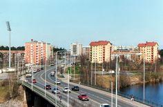 Tuira bridge, Oulu, Finland -