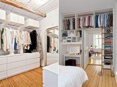 Cómo crear un vestidor low-cost | Decoración