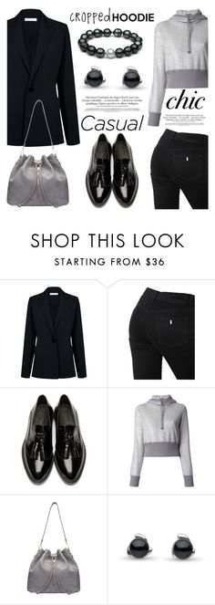 """""""Cute Trend: Cropped Hoodies"""" by pearlparadise ❤ liked on Polyvore featuring Atea Oceanie, STELLA McCARTNEY, Burberry, Missoni, contestentry, pearljewelry, CroppedHoodie and pearlparadise"""