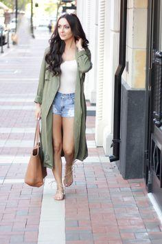 Averie Nicole Blog | How to Wear a Duster Jacket: Despite the Lingering Heat | Steve Madden | Gigi New York | www.averienicole.com