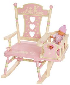 online shopping for Wildkin Rocking Chair, Rock-A-My-Baby from top store. See new offer for Wildkin Rocking Chair, Rock-A-My-Baby Baby Rocking Horse, Rock A Bye Baby, Baby Rocker, Kids Furniture, Painted Furniture, Furniture Design, Furniture Plans, Baby Room, Child Room