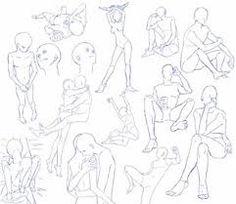 Картинки по запросу позы рисования человека