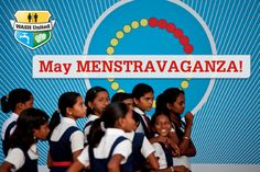 in May 2013 kick off our first-ever campaign initiative to break the silence around the taboo of menstruation! Join us at http://wash-united-may-menstravaganza.tumblr.com/ for the full campaign! #breakthesilence #periodtalk